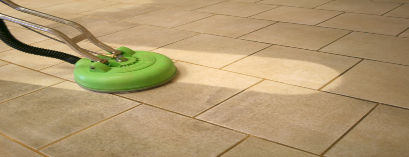 We offer grout cleaning services.